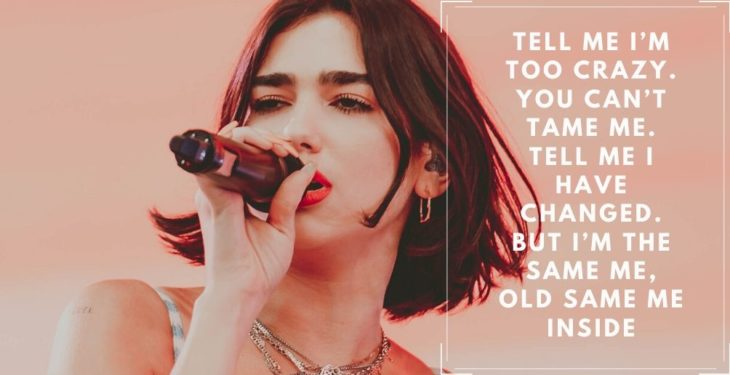 Dua lipa Quotes and Lyrics
