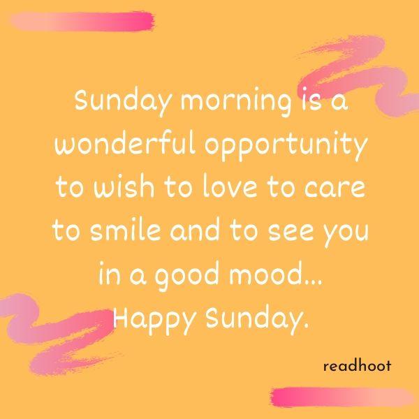 Happy Sunday Quotes