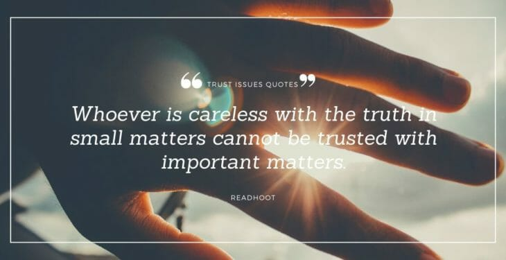 trust issues quotes and trust no one quotes